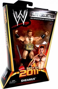 Mattel WWE Wrestling Elite Best of 2011 Action Figure Sheamus [Championship Belt!]