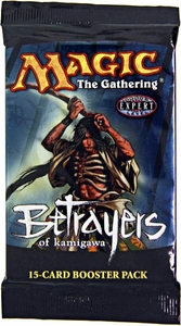 Magic the Gathering Betrayers of Kamigawa Booster Pack [15 cards]