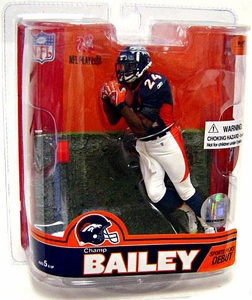 McFarlane Toys NFL Sports Picks Series 16 Action Figure Champ Bailey (Denver Broncos)
