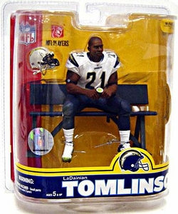 McFarlane Toys NFL Sports Picks Series 16 Action Figure LaDainian Tomlinson (San Diego Chargers) White Jersey Variant