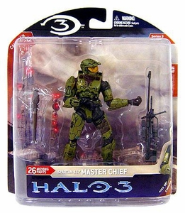 Halo 3 McFarlane Toys Series 3 Action Figure Master Chief 3 [Sniper Rifle]