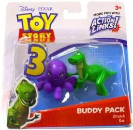 Disney / Pixar Toy Story 3 Action Links Mini Figure Buddy 2-Pack Stretch & Rex
