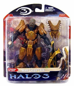 Halo 3 McFarlane Toys Series 3 Action Figure Brute War Chieftain [Fuel Rod Gun] COLLECTOR'S CHOICE!