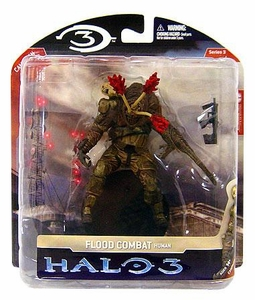 Halo 3 McFarlane Toys Series 3 Action Figure Flood Combat Human [SMG]