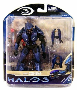 Halo 3 McFarlane Toys Series 3 Action Figure Elite Combat [Twin Plasma Guns]