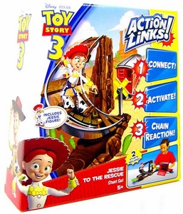 Disney / Pixar Toy Story 3 Action Links Stunt Play Set Jessie to the Rescue