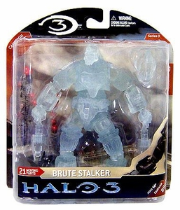 Halo 3 McFarlane Toys Series 3 Exclusive Action Figure Active Camouflage Brute Stalker COLLECTOR'S CHOICE!