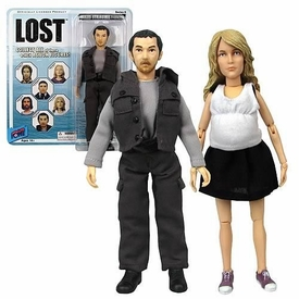 Bif Bang Pow! Lost Series 6 Set of Both Action Figures Claire Littleton & Miles Straume