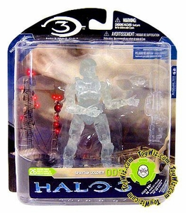 Halo 3 McFarlane Toys Series 3 Exclusive Action Figure Active Camo Spartan Soldier ODST with Battle Rifle & Grenade