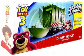 Disney / Pixar Toy Story 3 Action Links Stunt Vehicle Play Set Dump Truck with Lotso