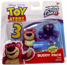 Disney / Pixar Toy Story 3 Exclusive Action Links Mini Figure Buddy 2-Pack Lotso & Stretch