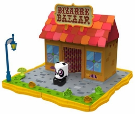 Moshi Monsters Bobble Bots Store Playset Bizarre Bazaar with ShiShi [500 Rox]