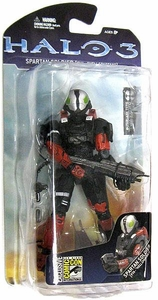 Halo 3 McFarlane Toys 2008 SDCC Exclusive Action Figure Hellspartan Spartan Soldier EVA
