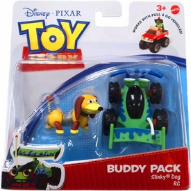 Disney / Pixar Toy Story 3 Action Links Mini Figure Buddy 2-Pack Slinky Dog & RC