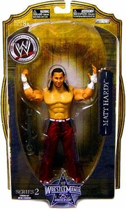 WWE Wrestlemania 25 Series 2 Action Figure Matt Hardy