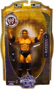 WWE Wrestlemania 25 Series 2 Action Figure Batista
