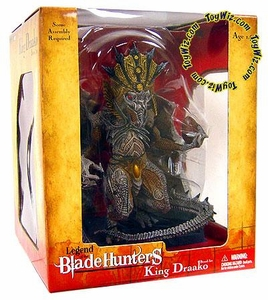 McFarlane Toys Legend of the Blade Hunters Series 1 Action Boxed Set King Draako