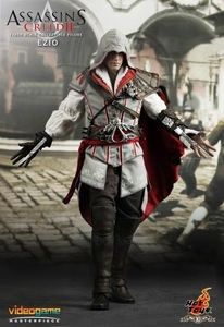 Assassin's Creed 2 Hot Toys Video Game Masterpiece 1/6 Scale Collectible Figure Ezio