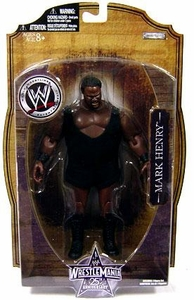 WWE Wrestlemania 25 Series 1 Action Figure Mark Henry