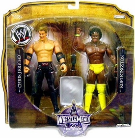 WWE Wrestlemania 25 Series 1 Action Figure 2-Pack Chris Jericho & Kofi Kingston