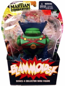Blammoids Series 4 Mini Figure Martian Manhunter