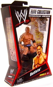 Mattel WWE Wrestling Elite Series 2 Action Figure Batista