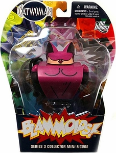 Blammoids Series 3 Mini Figure Catwoman
