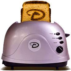 Pangea Breads ProToast Retro Toaster Arizona Diamondbacks