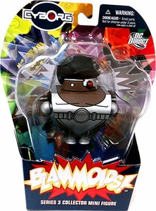 Blammoids Series 3 Mini Figure Cyborg