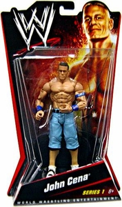 Mattel WWE Wrestling Basic Series 1 Action Figure John Cena BLOWOUT SALE!