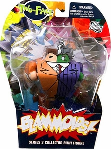 Blammoids Series 3 Mini Figure Two-Face