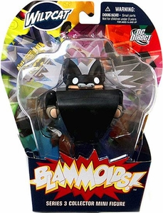 Blammoids Series 3 Mini Figure Wildcat