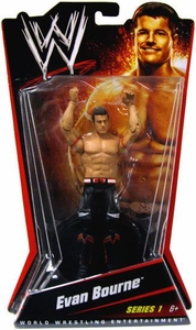 Mattel WWE Wrestling Basic Series 1 Action Figure Evan Bourne