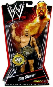 Mattel WWE Wrestling Basic Series 1 Action Figure Big Show [Commemorative Championship Belt] Only 1,000 Made!