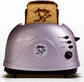 Pangea Breads ProToast Retro Toaster Pittsburgh Penguins