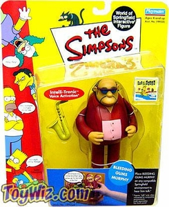 The Simpsons Series 6 Playmates Action Figure Bleeding Gums Murphy