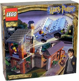 LEGO Harry Potter and the Sorcerer's Stone Set #4728 Escape From Privet Drive