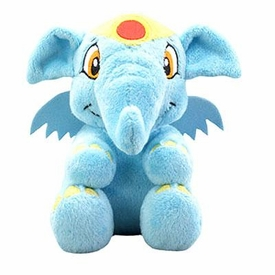 Neopets Collector Species Series 2 Plush with Keyquest Code Blue Elephante