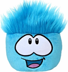 Disney Club Penguin 4 Inch Series 3 Plush Puffle Blue [Includes Coin with Code!]