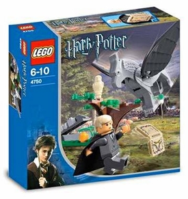 LEGO Harry Potter and the Prisoner of Azkaban Set #4750 Draco's Encounter with Buckbeak