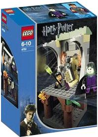 LEGO Harry Potter and the Prisoner of Azkaban Set #4751 Harry and the Marauder's Map Damaged Box, Mint Contents!