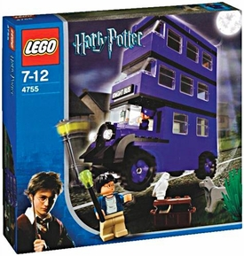 LEGO Harry Potter and the Prisoner of Azkaban Set #4755 Knight Bus Damaged Box, Mint Contents!