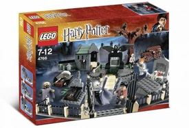 LEGO Harry Potter and the Goblet of Fire Set #4766 Graveyard Duel