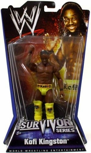 Mattel WWE Wrestling Survivor Series PPV Series 1 Action Figure Kofi Kingston BLOWOUT SALE!