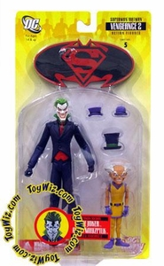 DC Direct Superman & Batman Series 5 With a Vengeance 2 Action Figure Joker and Mr. Mxyzptlk