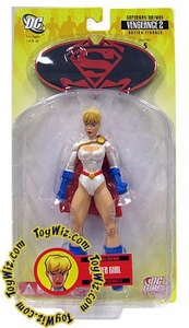 DC Direct Superman & Batman Series 5 With a Vengeance 2 Action Figure Power Girl