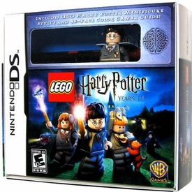 Nintendo DS Video Game Harry Potter: Years 1-4 [DS Stylus & LEGO Harry Minifigure]