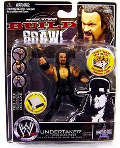 WWE Wrestling Build N' Brawl Wrestlemania 25th Anniversary Mini 4 Inch Figure Undertaker