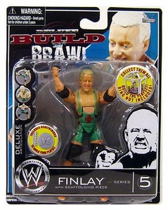WWE Wrestling Build N' Brawl Series 5 Mini 4 Inch Action Figure Finlay