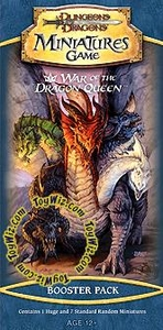 D&D Dungeons & Dragons Trading Miniatures Game HUGE Booster Pack War of the Dragon Queen